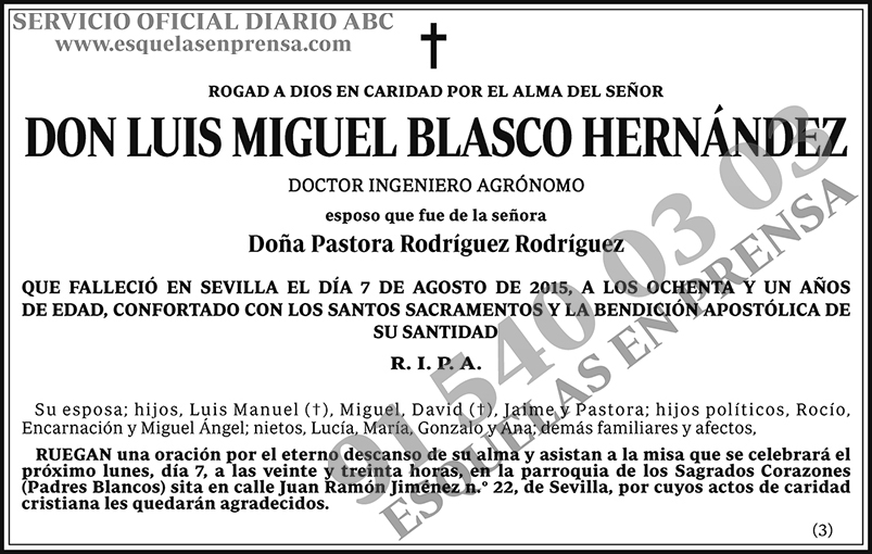 Luis Miguel Blasco Hernández